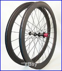 Sapim CX-RAY Carbon Clincher Wheel 700C 50mm Powerway 3k Matt Road Bike 25mm