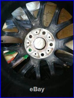 Set 18 River RVR Matt Black 5x114.3 8J ET45 Used Alloy Wheels 235/50/18 Tyres