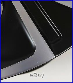 Set Of Four New Genuine Audi A1 Matt Black 18 Competition Alloy Wheels X4