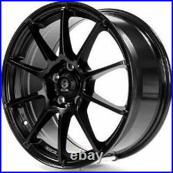 Sparco Assetto Gara Matt Black Alloy Wheel 17x7 ET38 5x100 Slightly Marked