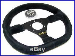 Sparco Steering Wheel L360 Ring (330mm/Flat/Flat Bottom/Suede)