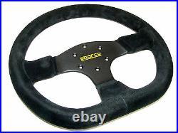 Sparco Steering Wheel R353 (330mm/36mm Dish/Flat Bottom/Suede)