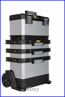 Stanley Fatmax Portable Rolling Workshop Mobile Toolbox Tool Storage Box Garage