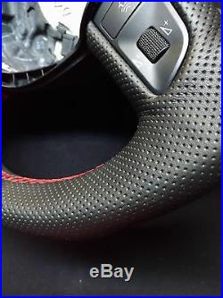 Steering Wheel AUDI A5 S5 RS5 FLAT BOTTOM! SPORT MODIFIED! R8 STYLE