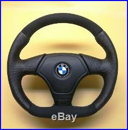 Steering Wheel BMW E36 E46 Z3! FLAT BOTTOM! EXTRA PADDING