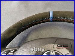 Steering Wheel BMW M3 Performance E92 E90 E93 E81 E82 E88 FLAT BOTTOM ALCANTARA