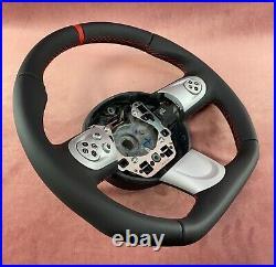 Steering Wheel MINI COOPER R55 R56 R57 R58 R59 FLAT BOTTOM ACANTARA LEATHER