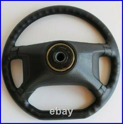 Steering Wheel VW OEM GTI Flat Bottom Leather Golf Jetta Scirocco Mk1 Mk2 76-88