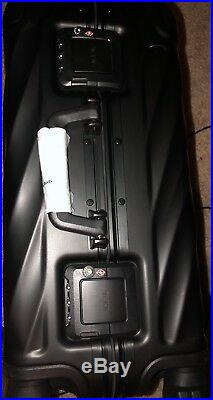 TUMI 19 Degree ALUMINUM International Carry On 4 Wheel Luggage 36860 Matte Black