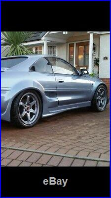 Toyota mr2 mk2 abflug style Wheel arches / fender flares set of 4 new bodykits