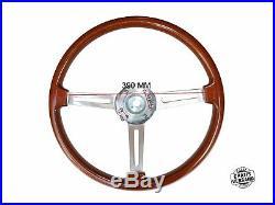 Typ Hellebore Lenkrad Alfa Romeo 105/115 Spider Gt Holzlenkrad 390mm + Nabe