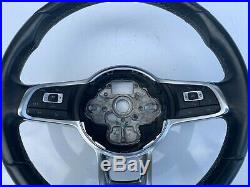 VW GOLF GTD DSG Mk7 and 7.5 Flat Bottom multifunction steering wheel 2013- 2019