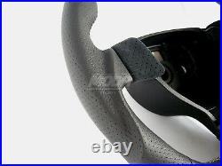 VW Golf Jetta MK5 V GTI Flat Bottom Sport Steering Wheel Leather