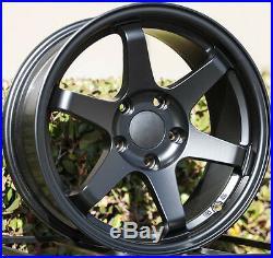 Varrstoen V1 16X8 5X114.3 Et25 Matt Black (1 Wheel Only)