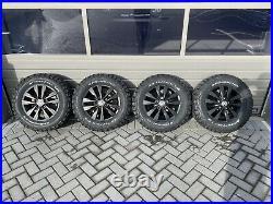 Volkswagen Transporter T6 16 Highline Swamper Alloy Wheels Brand New Matt Black