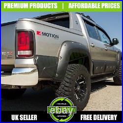Vw Amarok 2009-17 Matte Black Wide Body Wheel Arch Fender Flares Extensions Oem