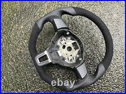 Vw R-line Gti Gt R32 Polo 6r New Custom Made Flat Bottom Steering Wheel