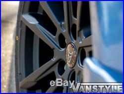Vw T6 Transporter 15 Wolfrace Dortmund 20 Matte Black Load Rated Wheel & Tyre