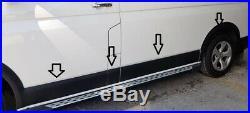 Vw Transporter T5 Wing Wheel Arch Trim Set 2004-2009 L&R BLACK MATT SWB