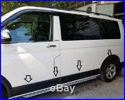 Vw Transporter T5 Wing Wheel Arch Trim Set 2004-2010 L&R BLACK MATT LWB