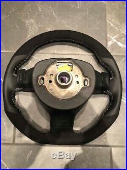 Vw golf mk5 flat bottom steering wheel gti gtd rline Jetta caddy r32
