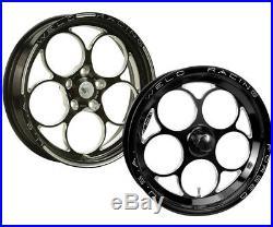 WELD 86B-1704204 Wheel Magnum Drag 2.0 Aluminum Matte Black 17 in. X 4.5 in. 5 x