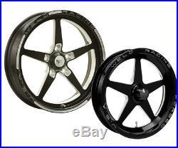 WELD 88B-1704204 Wheel AlumaStar 2.0 Aluminum Matte Black 17 in. X 4.50 in. 5 x