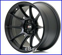 XXR 527 18x8.75 5x114.3/5x120 ET35 Wheels- Matt Black. Bore Diameter 73.1mm