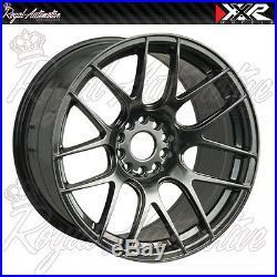XXR 530 Concave Alloy Wheels 18x8.75 ET33 5x100 5x112 Chrome Black VW AUDI