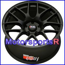 XXR 530 Wheels Flat Black 18 x 8.75 +33 Concave Rims 5x114.3 5x4.5 Satin Mesh SE