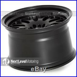 XXR 531 18x11 5-100/5-114.3 +20 Flat Black Wheels (Set of 4)