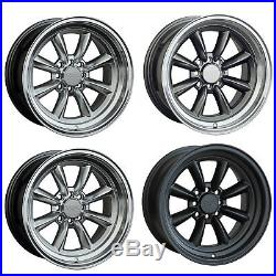 XXR 537 Light Alloy Wheels Rims 15 x 8 J 16 x 8 J et 0 et 20 100 + 108 x4 PCD