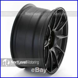 Xxr 527 18x8.75 5x100 5x114.3 +35 Flat Black Wheels (set Of 4)
