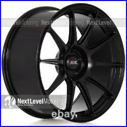 Xxr 527 19x8.75 5x114.3 +38 Flat Black Wheels (set Of 4)