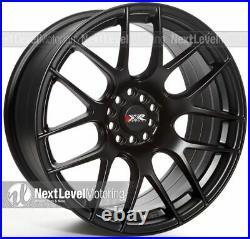 Xxr 530 18x8.75 5x100 5x114.3 +33 Flat Black Wheels (set Of 4)